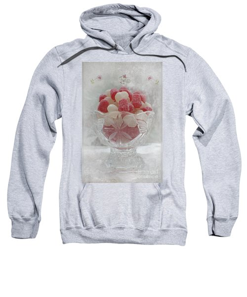 Sugar And Spice Love Red And White Sweatshirt