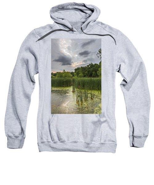 Summer Evening Clouds Sweatshirt