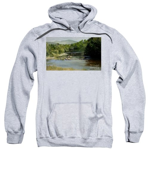 Summer On The River In Vermont Sweatshirt
