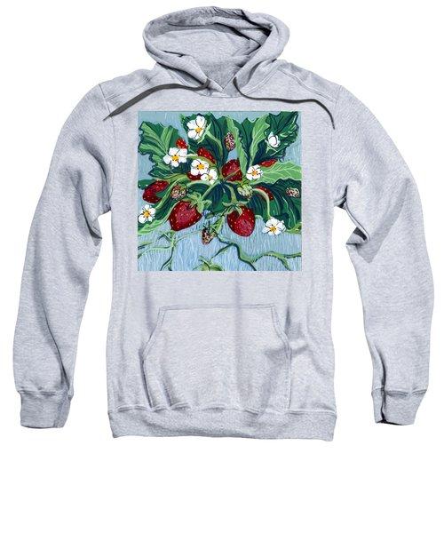 Summer Strawberries Sweatshirt
