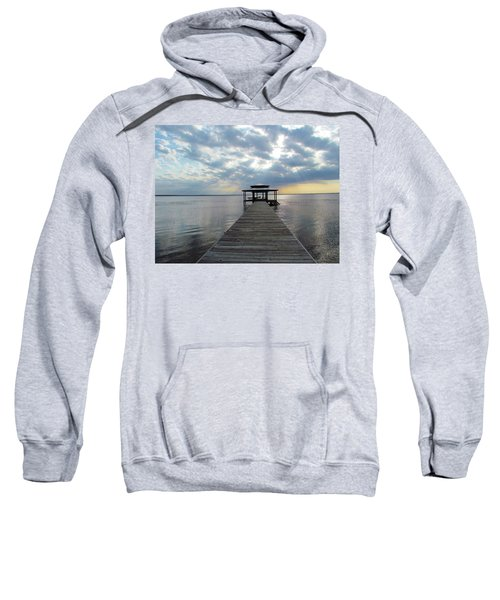 Sun Rays On The Lake Sweatshirt