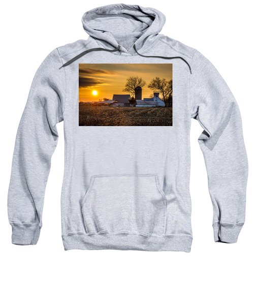 Sun Rise Over The Farm Sweatshirt