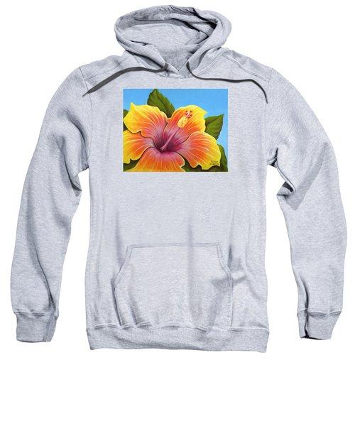 Sunburst Hibiscus Sweatshirt
