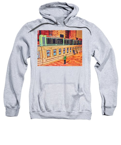 Sunday Am At Grand Central Sweatshirt
