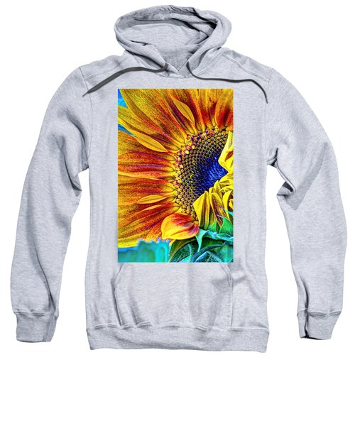 Sunflower Abstract Sweatshirt