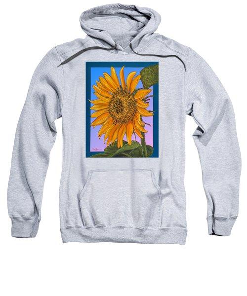 Da154 Sunflower By Daniel Adams Sweatshirt