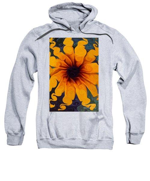 Sunflowers On Psychadelics Sweatshirt