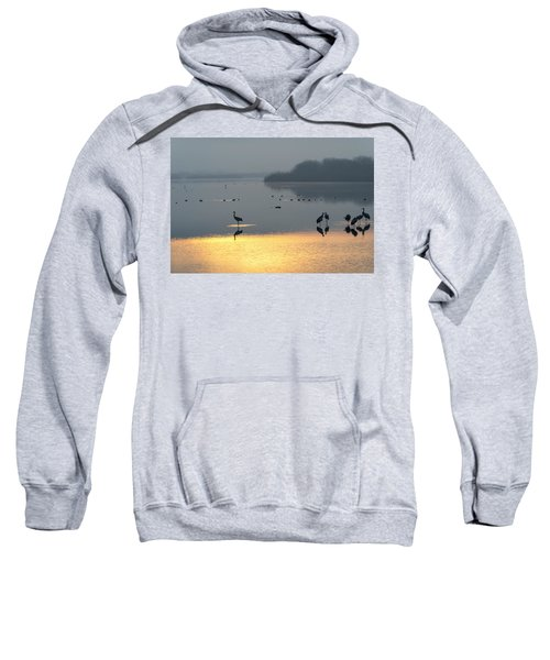 Sunrise Over The Hula Valley Israel 1 Sweatshirt