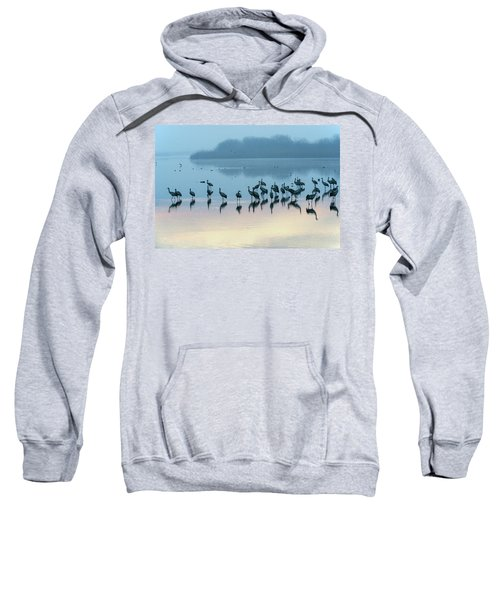Sunrise Over The Hula Valley Israel 5 Sweatshirt