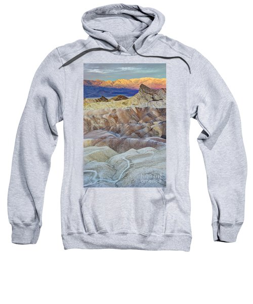 Sunrise In Death Valley Sweatshirt by Juli Scalzi