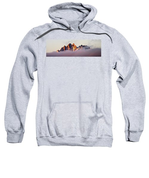 Sunrise On An Island In The Sky Sweatshirt