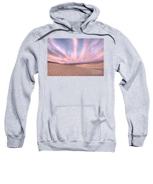 Sunrise Over Sand Dunes Sweatshirt