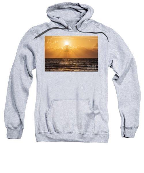 Sunrise Over The Caribbean Sea Sweatshirt