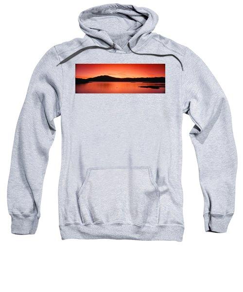 Sunset At Ashokan Reservoir, Catskill Sweatshirt