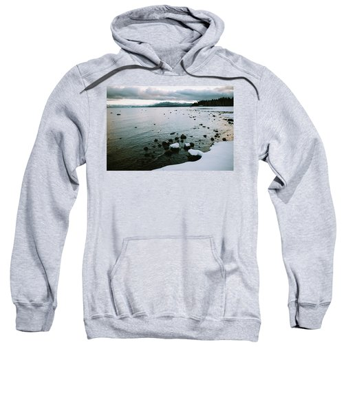 Sunset At Commons Beach In Lake Tahoe Sweatshirt