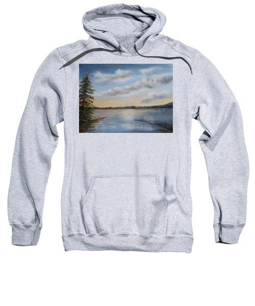 Sunset At Sparta Lake New Jersey Sweatshirt