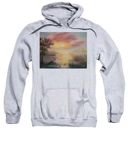 Sunset By The Lake Sweatshirt