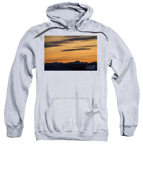 Sunset From 567 Sweatshirt