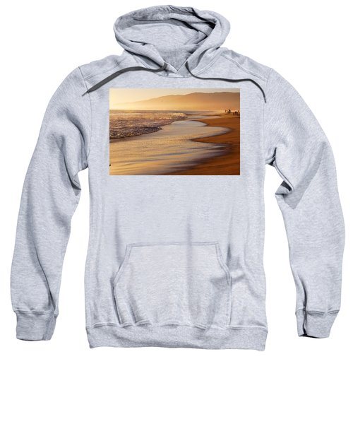 Sunset On A Beach Sweatshirt