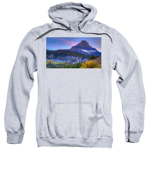 Sunset On Reynolds Mountain Sweatshirt