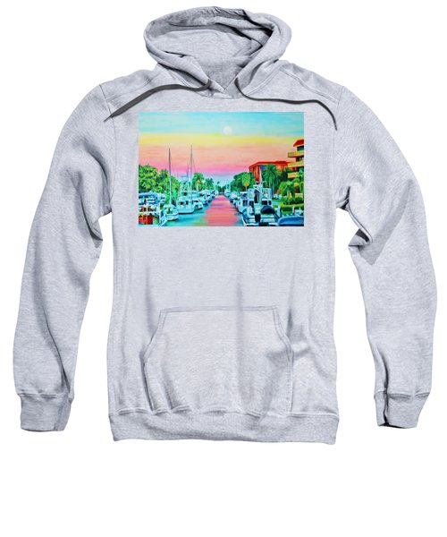Sunset On The Canal Sweatshirt