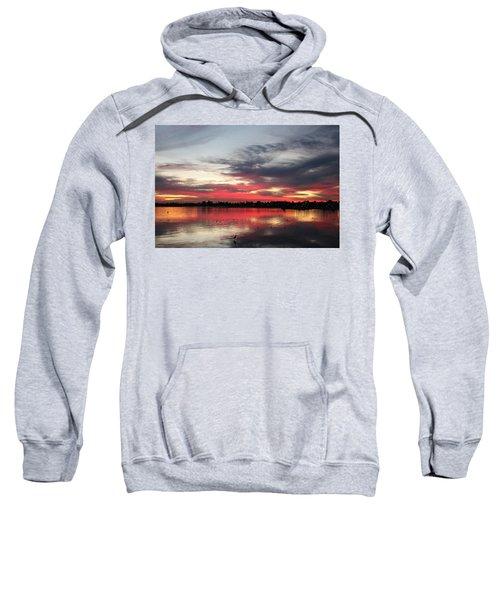 Sunset Over Mission Bay  Sweatshirt