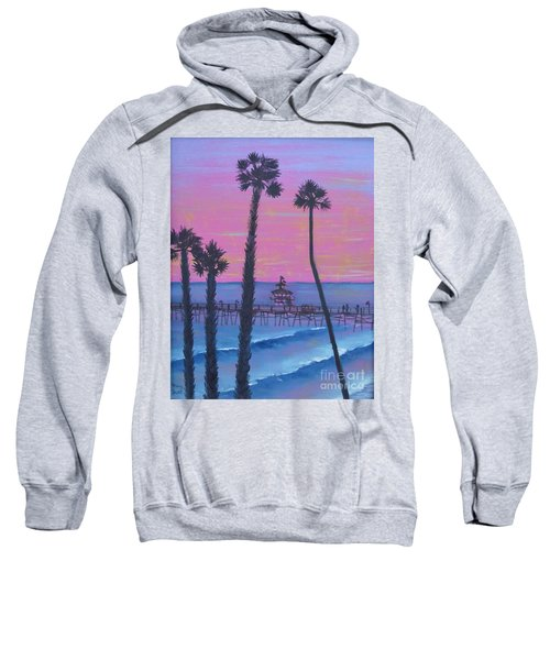 Sunset Pier Sweatshirt