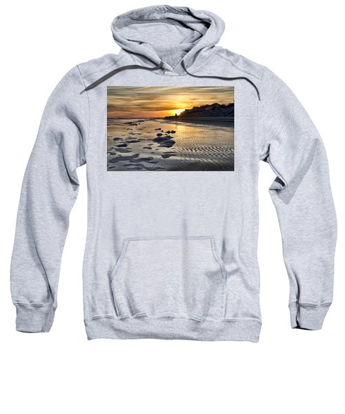 Sunset Wild Dunes Beach South Carolina Sweatshirt