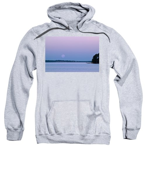 Super Moon Setting-1 Sweatshirt