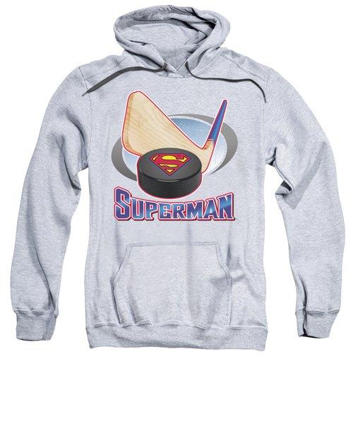 Superman - Hockey Stick Sweatshirt