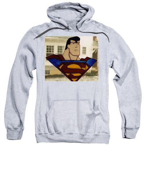 Superman Panel Sweatshirt