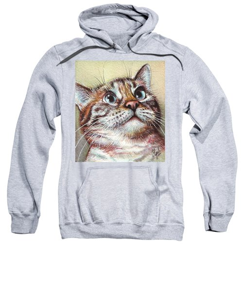 Surprised Kitty Sweatshirt