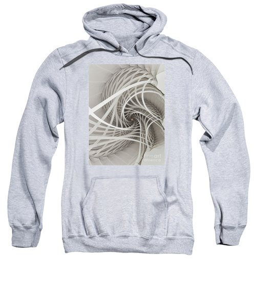 Suspension Bridge-fractal Art Sweatshirt