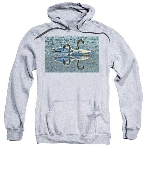 Swan Love Sweatshirt