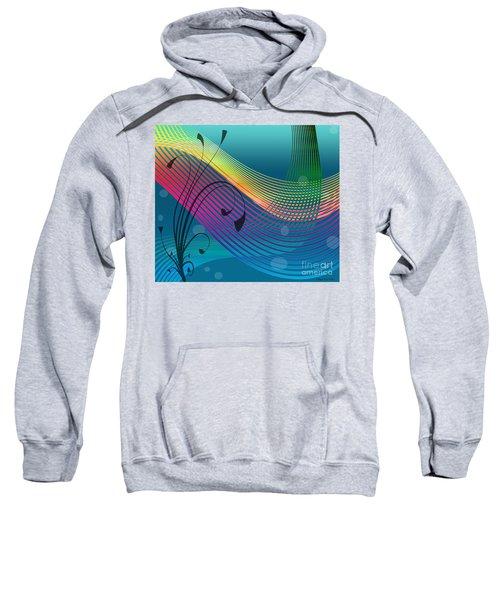 Sweet Dreams Abstract Sweatshirt