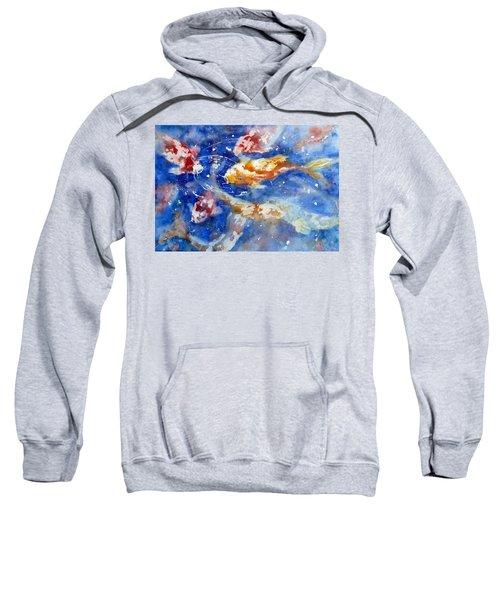 Swimming Koi Fish Sweatshirt