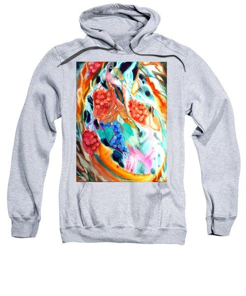 Swirling Grapes Sweatshirt