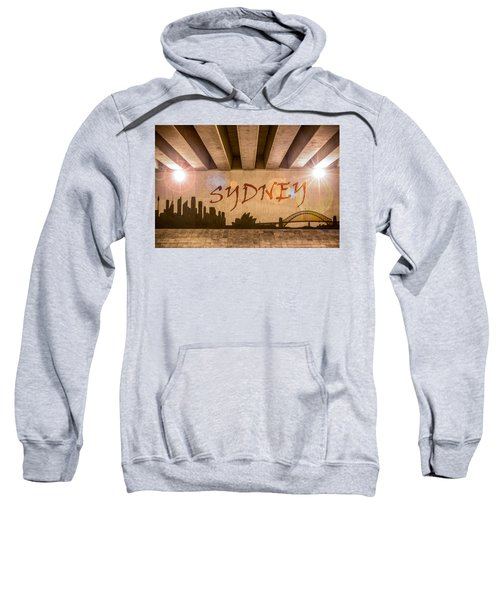 Sydney Graffiti Skyline Sweatshirt