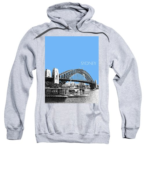 Sydney Skyline 2 Harbor Bridge - Light Blue Sweatshirt