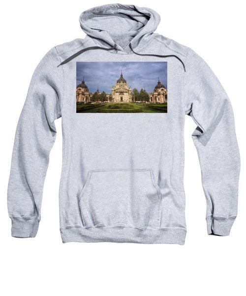 Szechenyi Baths Budapest Hungary Sweatshirt