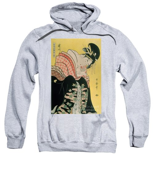 Takigawa From The Tea House Ogi Sweatshirt