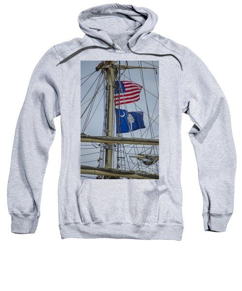 Tall Ships Flags Sweatshirt