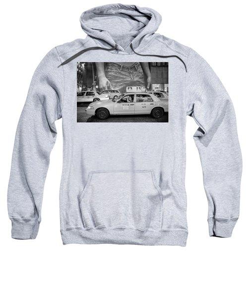 Taxis On Fifth Avenue Sweatshirt