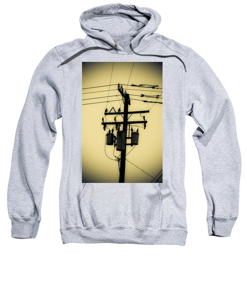 Telephone Pole 3 Sweatshirt