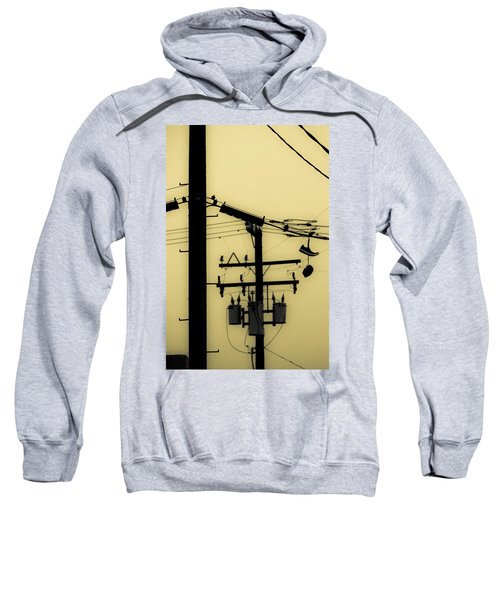 Telephone Pole And Sneakers 5 Sweatshirt