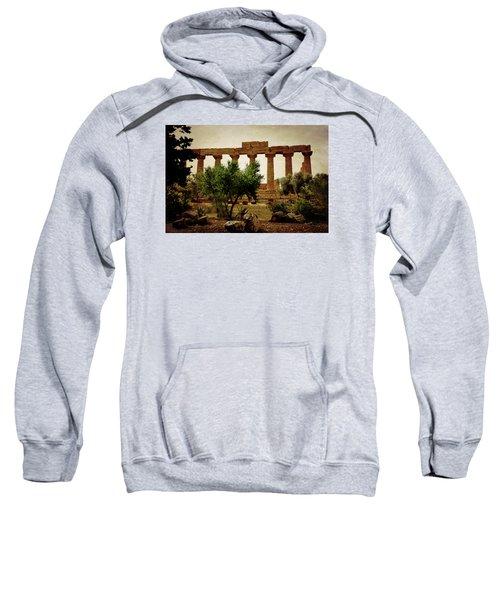 Temple Of Juno Lacinia In Agrigento Sweatshirt