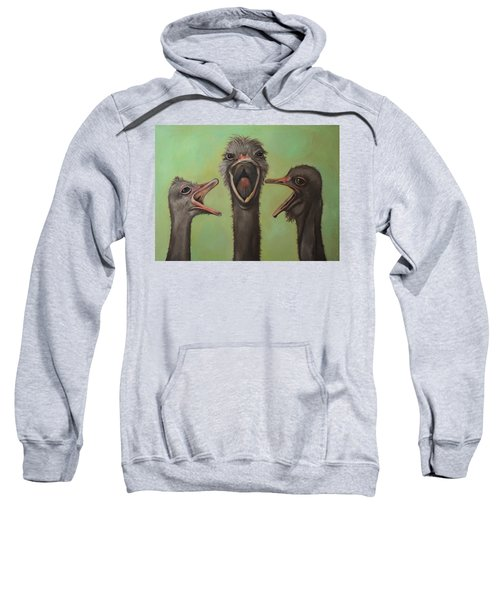 The 3 Tenors Sweatshirt by Leah Saulnier The Painting Maniac