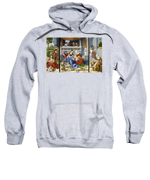 The Altarpiece Of The Holy Kinship Sweatshirt