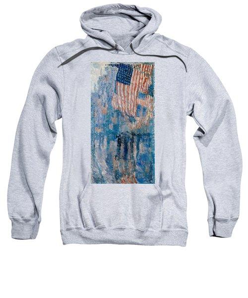 The Avenue In The Rain Sweatshirt