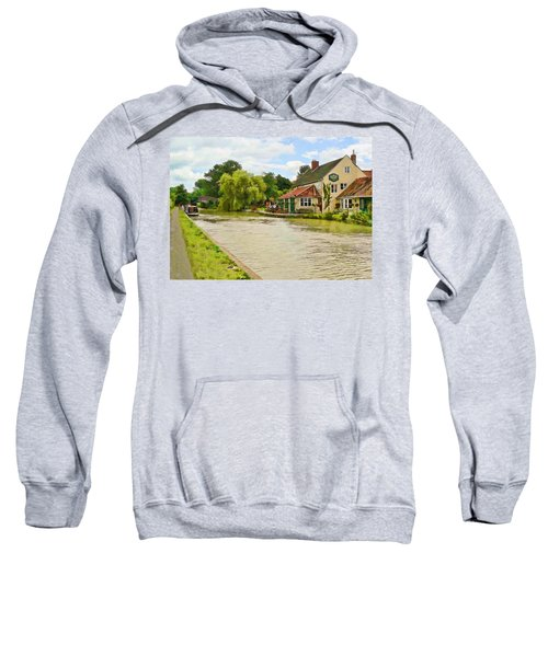The Barge Inn Seend Sweatshirt